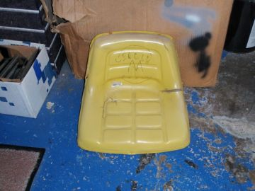 Before - Mower Seat