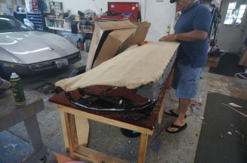 Bench Seat Re-build