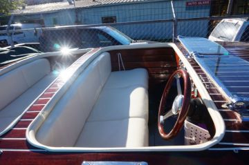 Antique Boat & Cockpit Cover