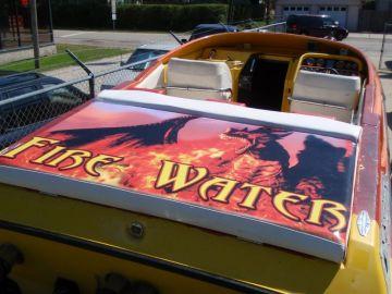 Fire Water Swim Deck