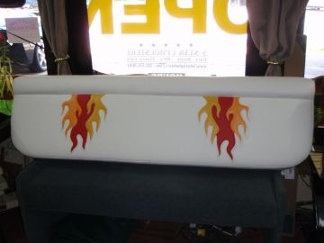 Rear Deck - Hot Flames!