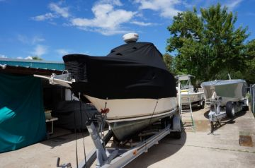 Shamrock Boat Cover