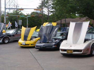 Baybright Car Wash Corvette Car Show
