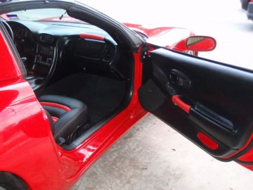 1994 Corvette - Red Ostrich