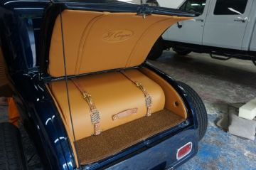 31 Coupe Custom Trunk by 5 Star Upholstery in League City