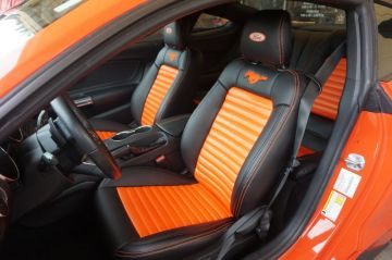 Spicy Orange Mustang GT