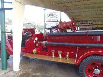 Webster's #1 - 1937 Fire Truck