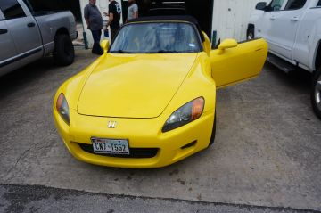 Yellow/Black S2000