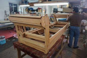 70's Couch - Custom Rebuild