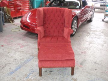 Wing Back w/ Recliner