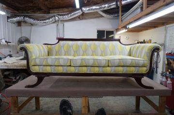 Antique Couch Modernized