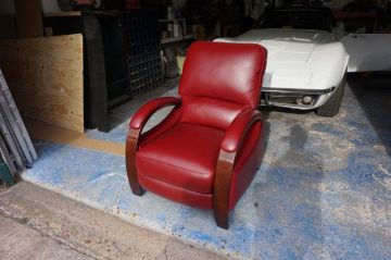 Bright Red Recliner_1
