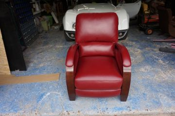 Bright Red Recliner_2