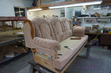 Couch in progress