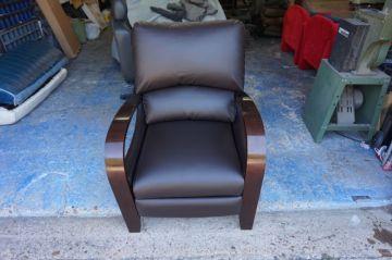Espresso Leather Recliner_1