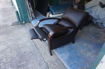 Espresso Leather Recliner_4