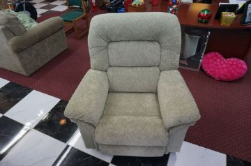 Green Swirl Recliner_1