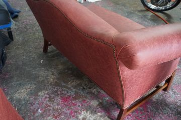 Leather Loveseat_3