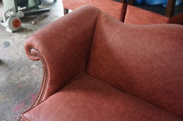 Leather Loveseat_5