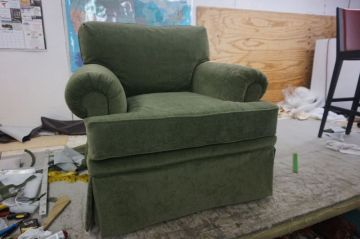 Olive Green Chair_1
