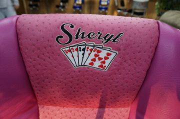 Pink Poker Chair _2