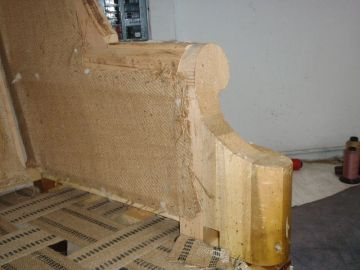 Rebuilding Chair Base