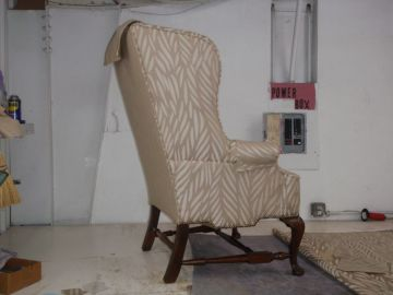 Rebuilding Chair Base