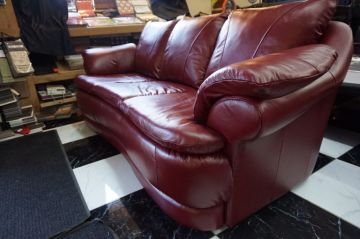 Red Leather Couch_6
