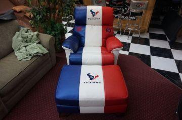 Texans Chair & Ottoman _1