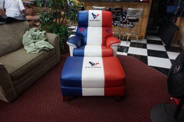 Texans Chair & Ottoman _2
