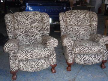 Zebra Recliner's