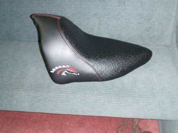 Custom Iron Horse Motorcycle Seat Upholstery by 5 Star