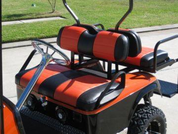 Harley/Halloween Golf Cart