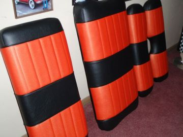 Harley Golf Cart Seats