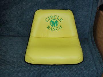 Mower Seat - Circle M Ranch